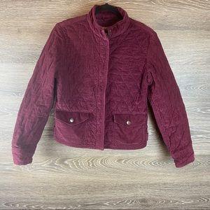 Eddie Bauer Vintage Thermal Corduroy Jacket